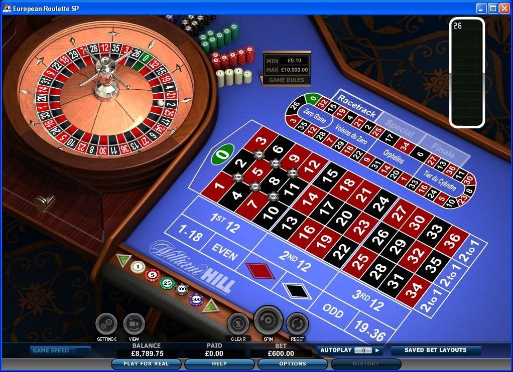 Online roulette lage inzet