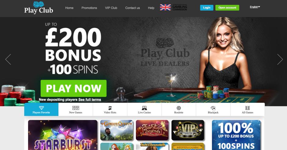 PlayClub казино