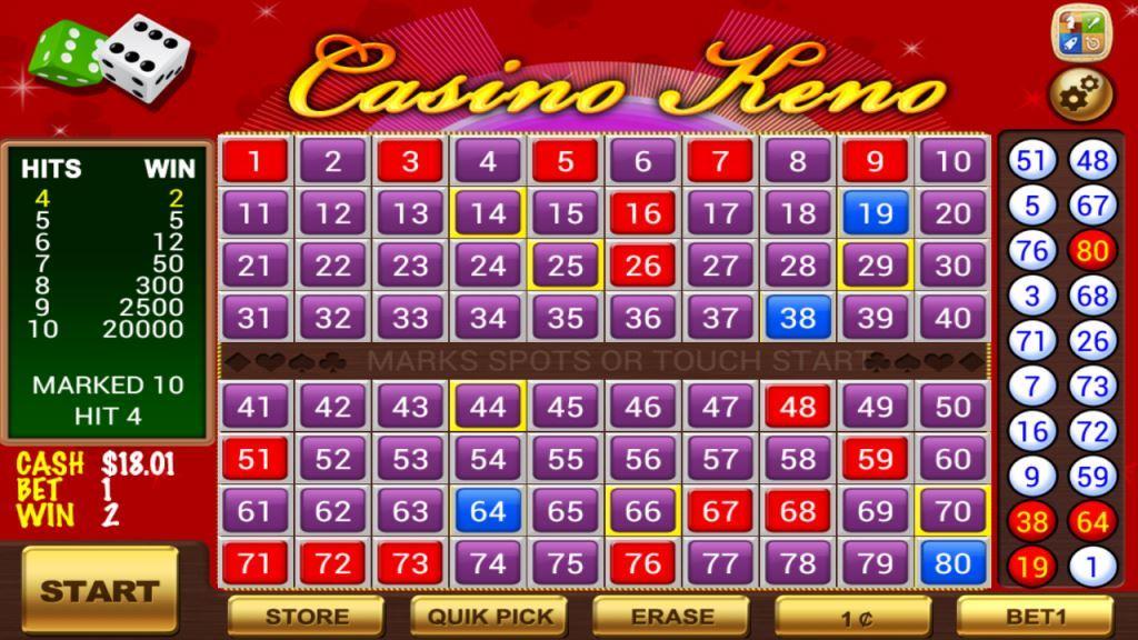 Онлајн кено во онлајн казино