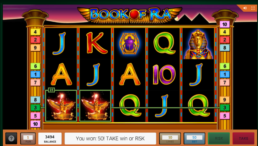 Book Of Ra Casino Bonus