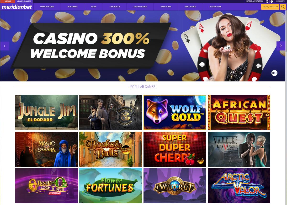 Meridianbet казино